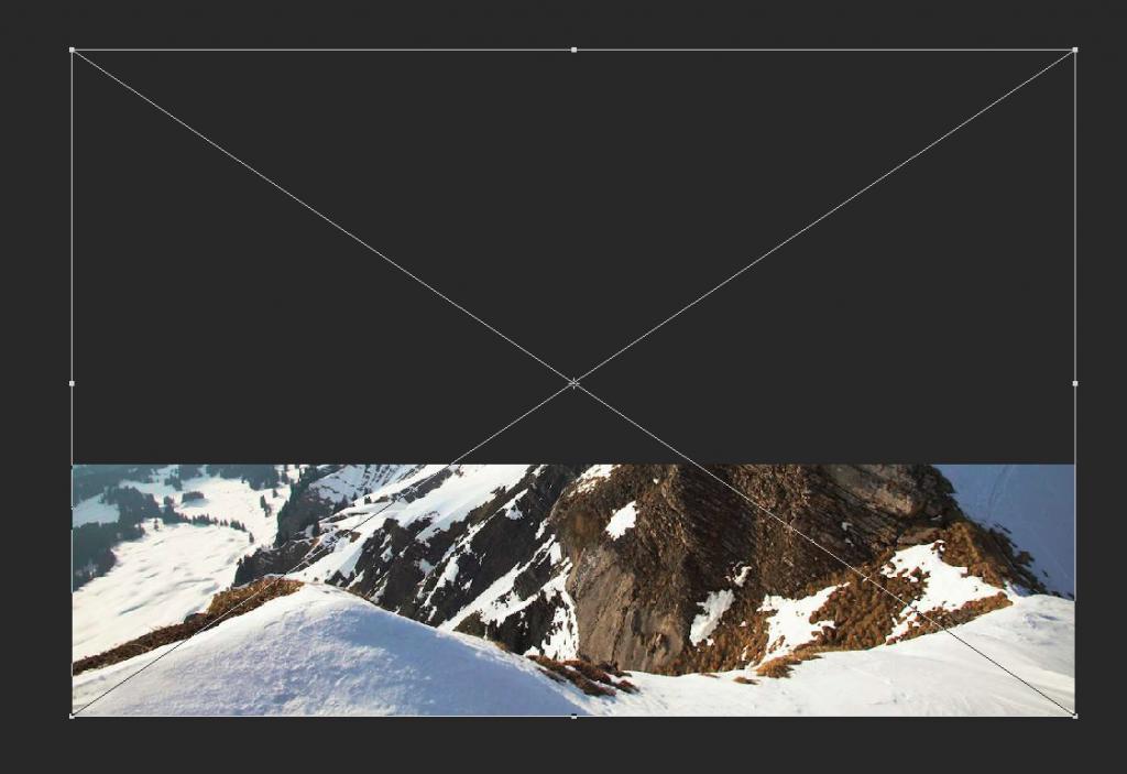 Skalierung von Bildern in Photoshop